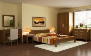 Moderná manželská posteľ do spálne